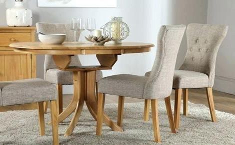 Extendable Round Dining Tables Sets With Most Popular Extendable Dining Room Sets Contemporary Dining Tables Extendable (Gallery 7 of 20)