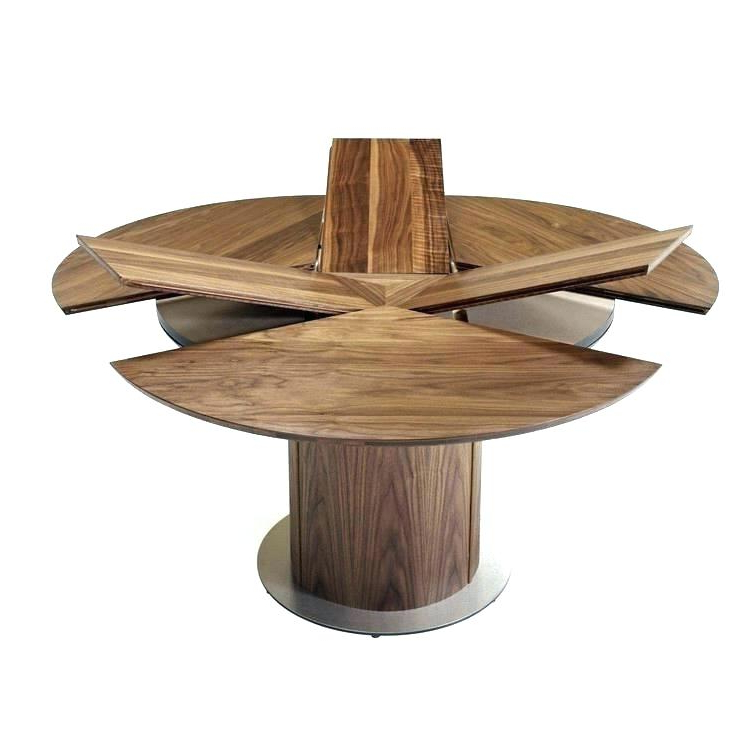 Extendable Round Dining Tables With Well Liked Dining Table Expandable Expandable Round Dining Table Dining Room (View 7 of 20)