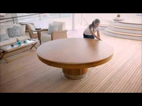Extended Round Dining Tables Regarding Newest Expandable Round Dining Table – Youtube (View 9 of 20)