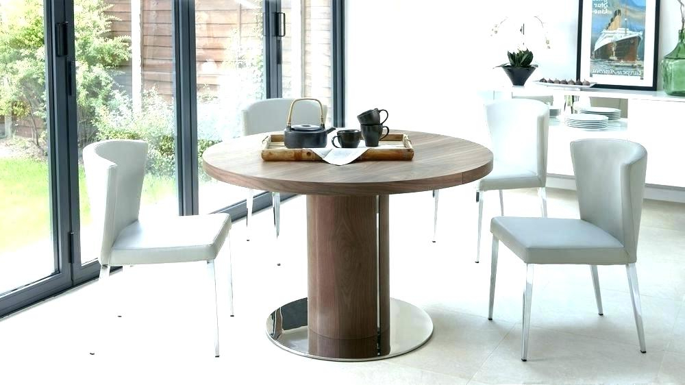 Extended Round Dining Tables Throughout 2017 Round Pedestal Extending Dining Table Furniture Nice Pedestal Dining (View 7 of 20)