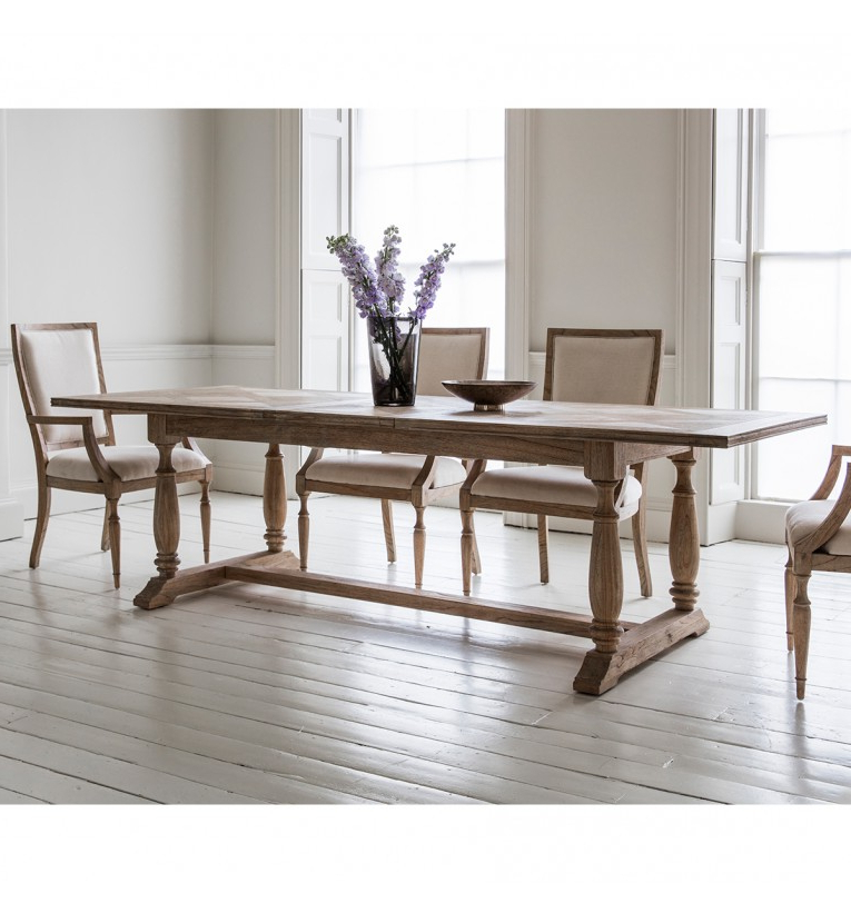 Extending Dining Sets Inside Fashionable Mustique Extending Dining Table 250X100X75Cm (View 6 of 20)