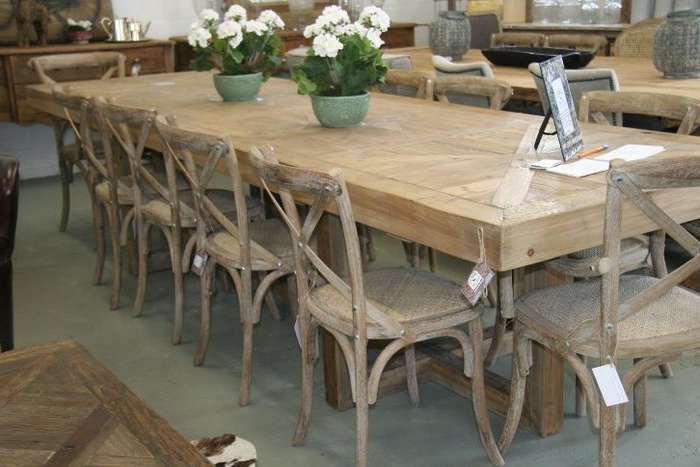 Extending Dining Table With 10 Seats For Most Popular  (View 6 of 20)