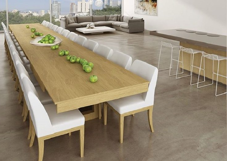 Extending Dining Tables For Most Recent Mega Extendable Dining Table – Ippinka (View 7 of 20)