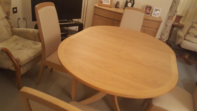 Extending Dining Tables – Second Hand Household Furniture, Buy And Intended For Preferred Walden Extension Dining Tables (View 8 of 20)
