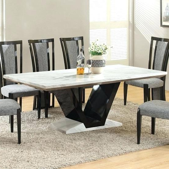 Extending Marble Dining Tables Regarding Well Liked Marble Dining Room Table Marble Dining Room Set – Matras (View 13 of 20)