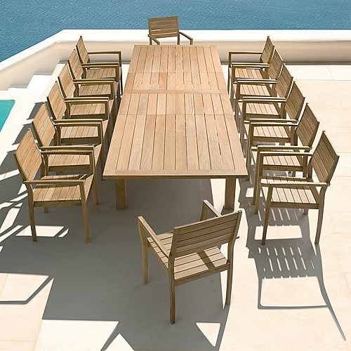 Extending Outdoor Dining Tables For Latest Dining Furniture Outdoor (View 8 of 20)