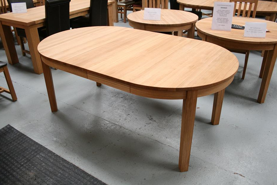 Extending Round Oval Dining Table (View 4 of 20)