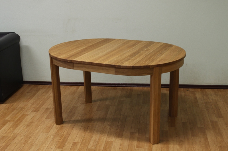 Extending Round Oval Dining Table (Gallery 3 of 20)