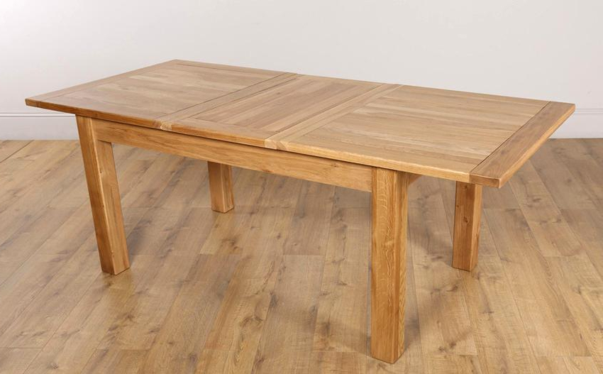 Extending Solid Oak Dining Tables Inside Most Up To Date Fantastic Extending Solid Oak Dining Table Lovable Oak Extendable (View 6 of 20)