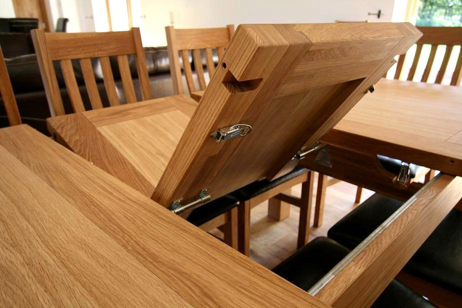 Extending Solid Oak Dining Tables With Regard To Famous Incredible Extending Solid Oak Dining Table Tallinn Butterfly (Gallery 1 of 20)
