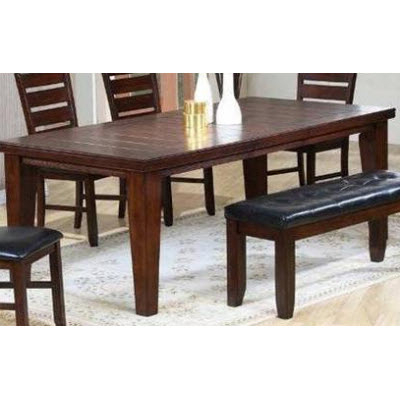 Eztia Furniture Dining Tables Chisum 392 881 01 (Rectangle) From Yeg Throughout Recent Edmonton Dining Tables (Gallery 19 of 20)