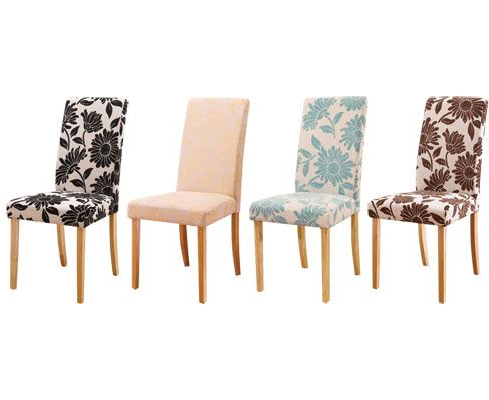 Fabric Covered Dining Chairs Regarding Most Up To Date Fabric Covered Dining Room Chairs Decor Ideasdecor Ideas (Gallery 8 of 20)