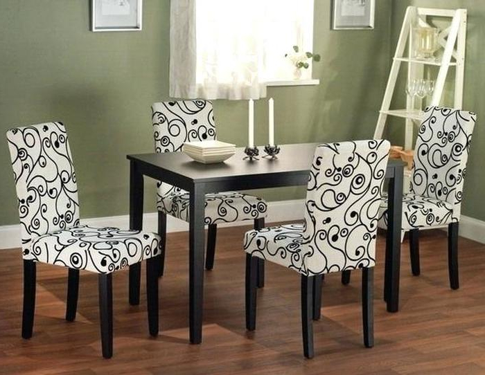Fabric Dining Room Chairs Intended For Fashionable  (View 7 of 20)