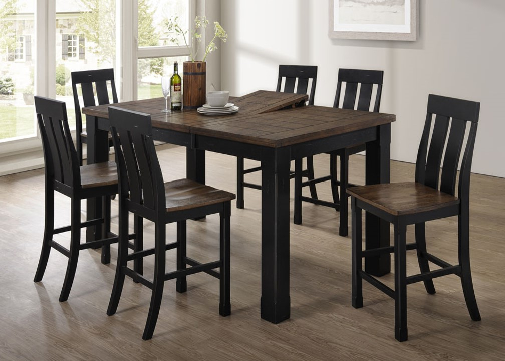 Famous 5016 72 Tyler – United Furniture Industries Inside Leon 7 Piece Dining Sets (View 7 of 20)
