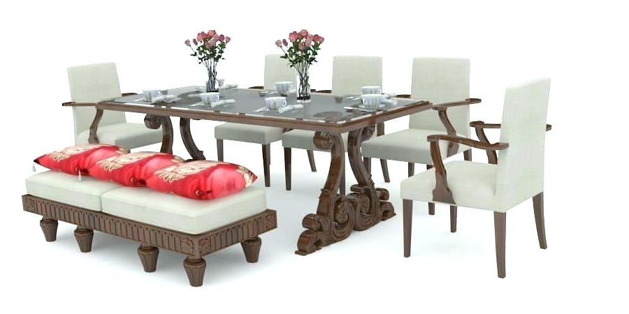 Famous 8 Seater Dining Table Sets With 8 Seater Dining Table 8 Seater Dining Room Sets Square 8 Seater (View 15 of 20)