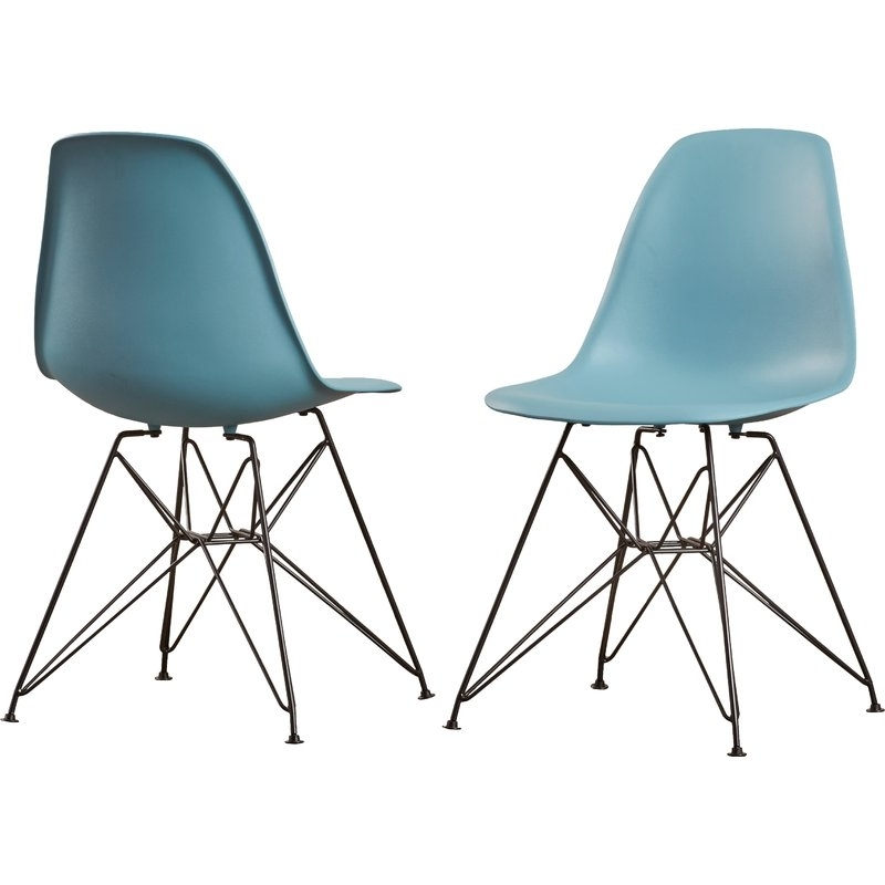 Famous Alexa Firecracker Side Chairs For Wrought Studio Prudence Side Chair (View 4 of 20)