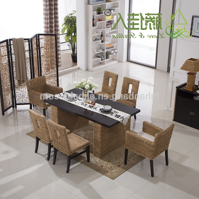 Famous Bali Dining Sets With Regard To Bali Round Table And Chair Set Rattan Dining Set Wicker – Buy Round (View 7 of 20)
