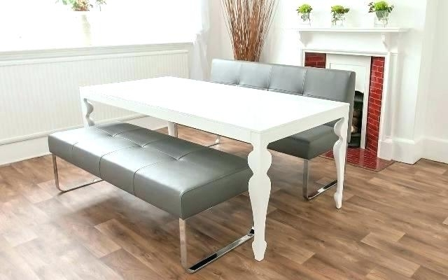 Famous Bench With Back For Dining Tables Intended For Dining Table Bench With Back – Warqadc (View 5 of 20)