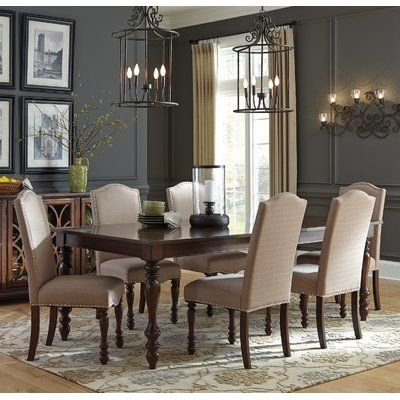 Famous Birch Lane™ Calila Extendable Dining Table In (View 9 of 20)