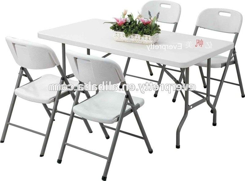 Famous Cheap Dining Sets Within Cheap Dining Table And 4 Chairs,plastic Dining Table And Chair,high (View 9 of 20)