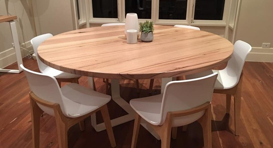 Famous Circle Dining Tables Inside Get The Best Round Dining Table For 6 – Home Decor Ideas (View 9 of 20)