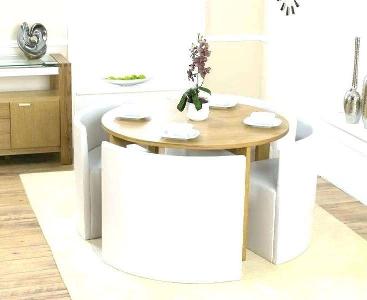Famous Compact Dining Table With Chairs Small Set Room Sets Kitchen And On Within Compact Dining Room Sets (View 13 of 20)