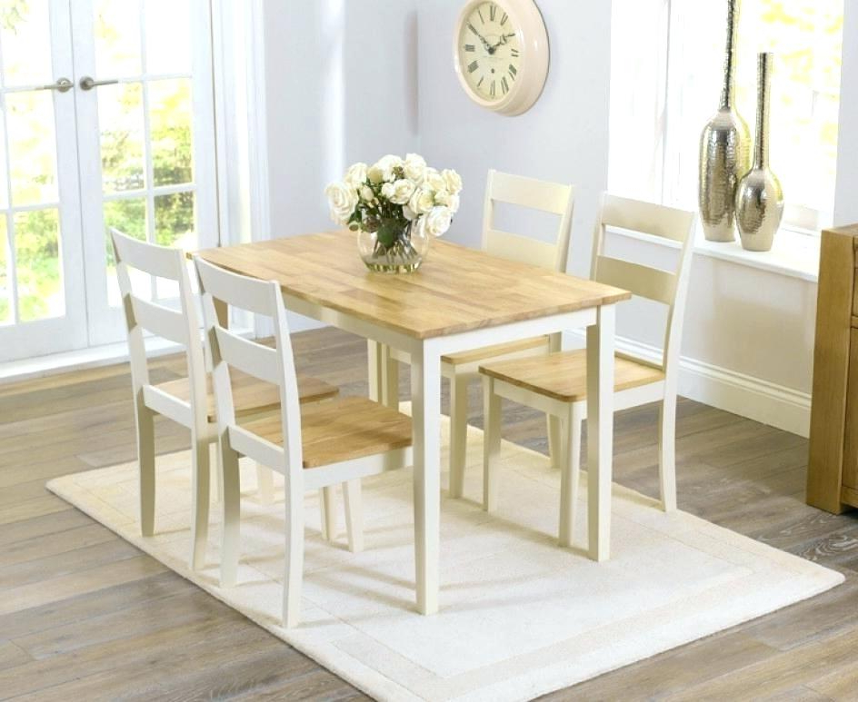 Famous Cream Dining Room Set Round Cream Dining Table And Chairs Glass Set Inside Cream Dining Tables And Chairs (View 5 of 20)
