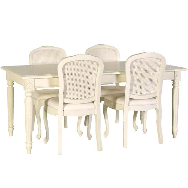 Famous Cream Dining Tables And Chairs With Regard To Cream Dining Room Set – Www.cheekybeaglestudios (Gallery 15 of 20)