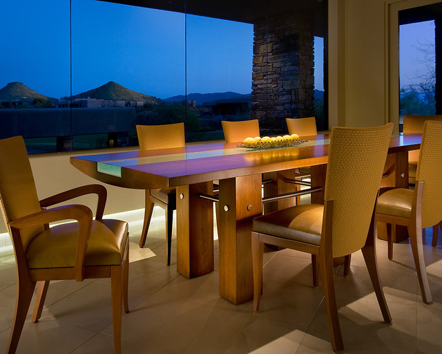 Famous Custom Dining Table – Contemporary – Dining Room – Phoenix – With Regard To Phoenix Dining Tables (View 7 of 20)