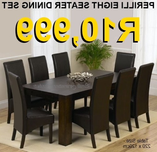 Famous Dining Room Suites Pertaining To Dining Room Suites – Dining Room Suites Was Sold For R10,999.00 On (Gallery 6 of 20)