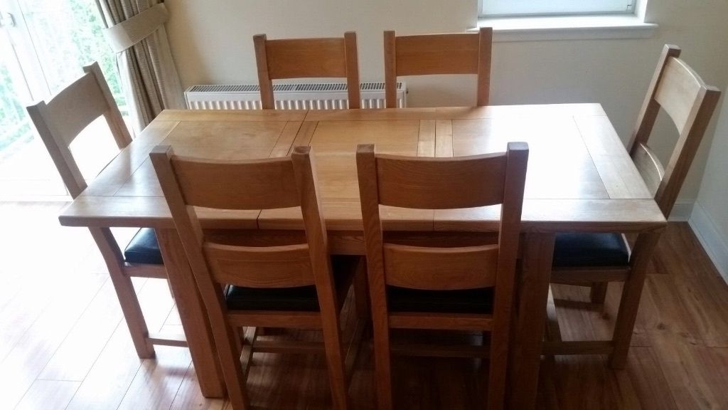 Famous Dining Room Table And Chairs Gumtree Dining Table And Chairs Gumtree Pertaining To Glasgow Dining Sets (View 5 of 20)