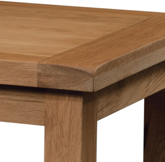 Famous Extending Dining Tables In Old Mill Oak Medium Extending Dining Table (View 12 of 20)