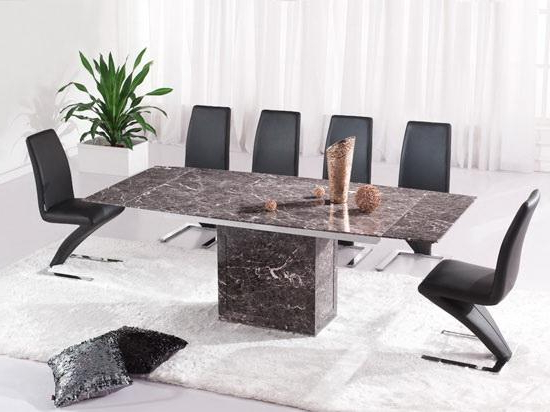 Featured Photo of Extending Marble Dining Tables