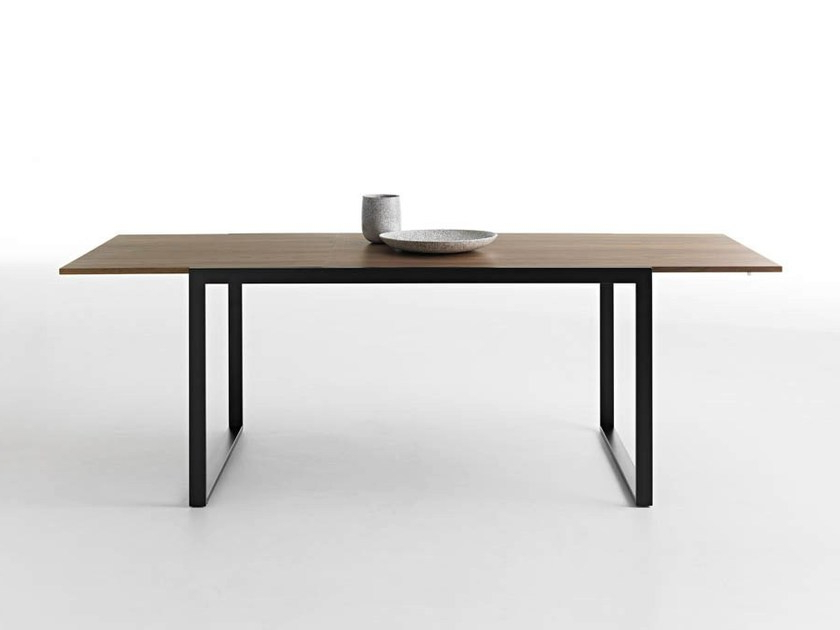 Famous Extending Wooden Table Wow! Pluscasamania & Horm In Craftsman Rectangle Extension Dining Tables (View 16 of 20)