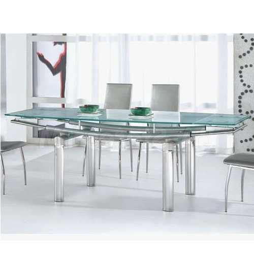 Famous Glass And Stainless Steel Dining Tables For Stainless Steel Dining Table, Ss Dining Table, Stainless Steel Ki (View 5 of 20)