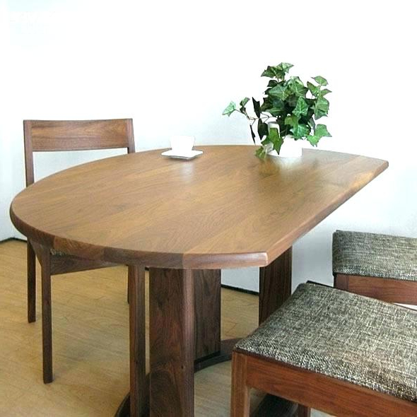 Famous Half Moon Kitchen Table Moon Dining Table – Yuppers.co In Round Half Moon Dining Tables (Gallery 18 of 20)