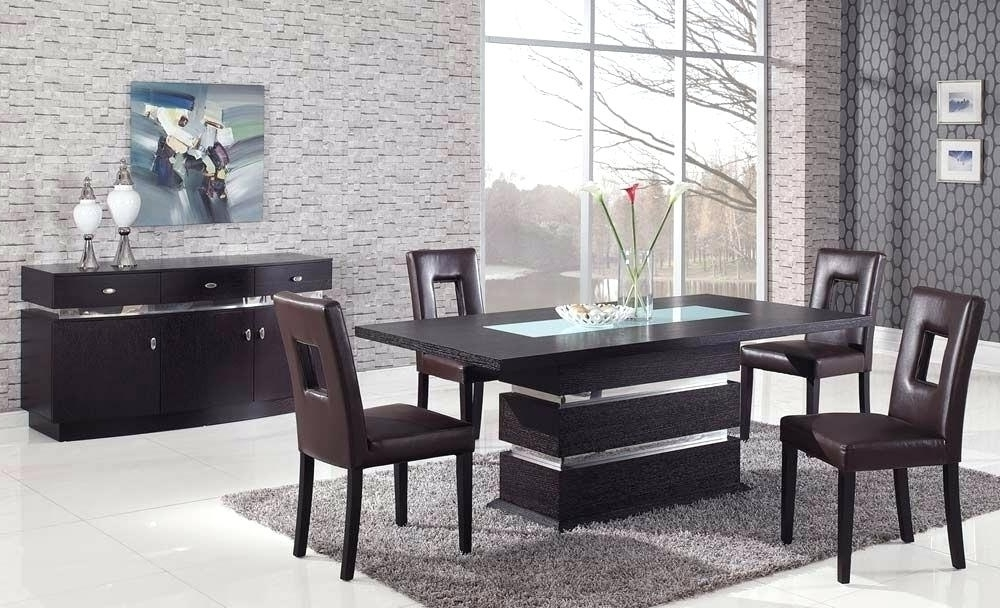 Famous Italian Modern Dining Table High End Tables Elegant Room Sets For For Contemporary Dining Tables Sets (View 12 of 20)
