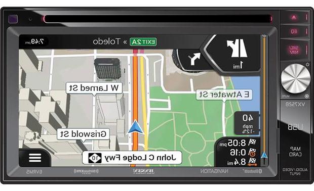 Famous Jensen 5 Piece Counter Sets Regarding Jensen Vx7528 Navigation Receiver At Crutchfield (View 4 of 20)