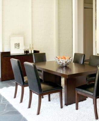 Famous Kelso 9 Pc Dining Set Table 8 Side Chairs – Dining Tables Ideas Intended For Palazzo 9 Piece Dining Sets With Pearson White Side Chairs (View 20 of 20)