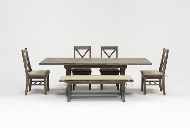 Famous Mallard Extension Dining Tables With Regard To Mallard 6 Piece Extension Dining Set (View 6 of 20)