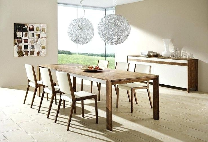 Famous Modern Dining Tables Design Eye Catching Functional Dining Table Throughout Contemporary Dining Room Tables And Chairs (View 12 of 20)