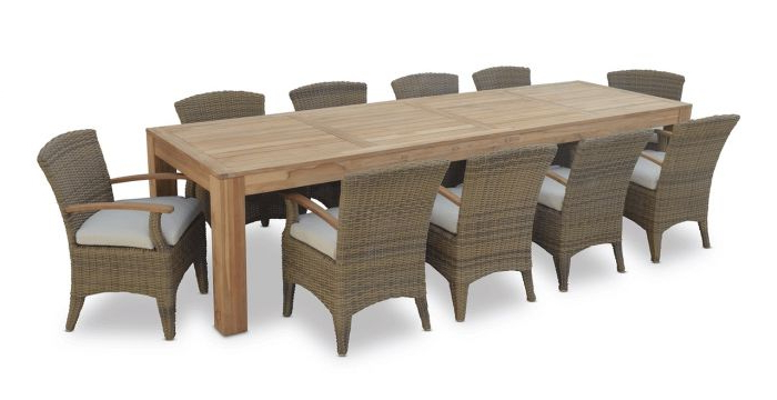 "Famous Outdoor Sienna Dining Tables With Regard To Sienna Island"" Outdoor  (View 7 of 20)"