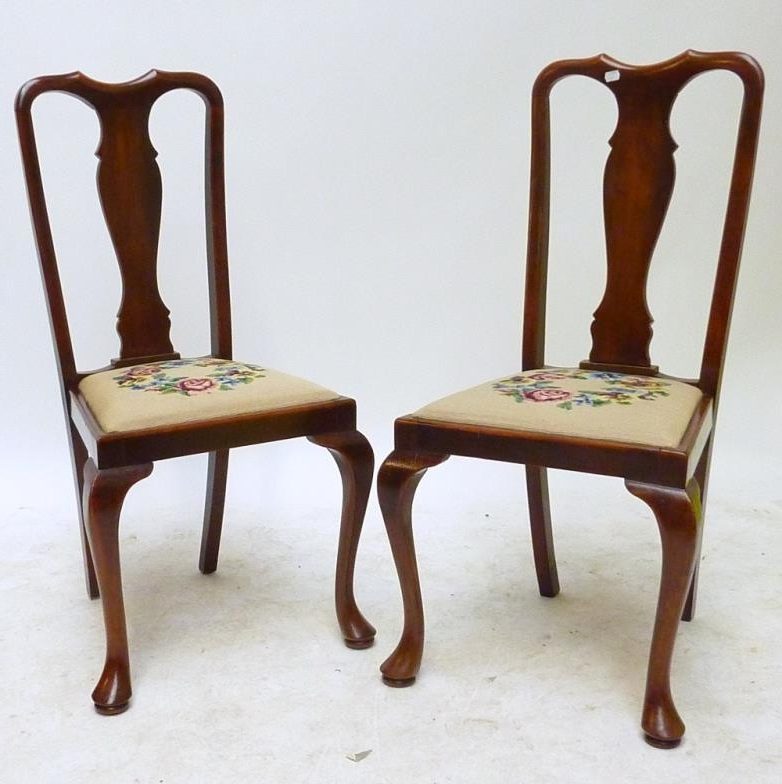 Famous Partridge Side Chairs For Adam Partridge Auctioneers & Valuers : A Set Of Six Early 20Th (View 3 of 20)