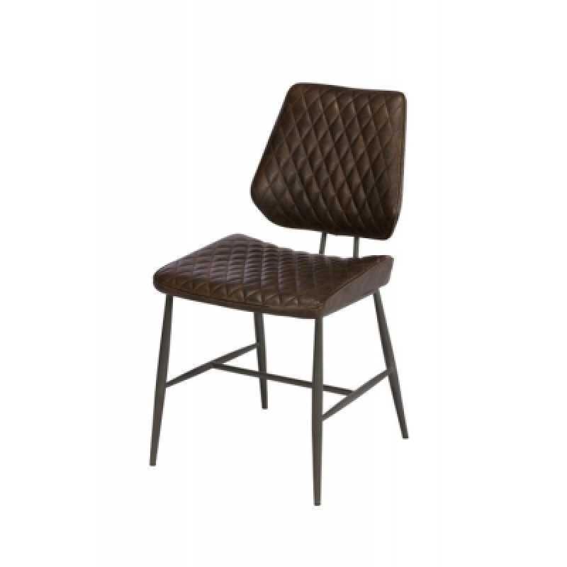 Famous Quilted Brown Dining Chairs Pertaining To Dining Chairs, Kitchen Chairs – Nationwide Delivery – Shop Online (View 6 of 20)