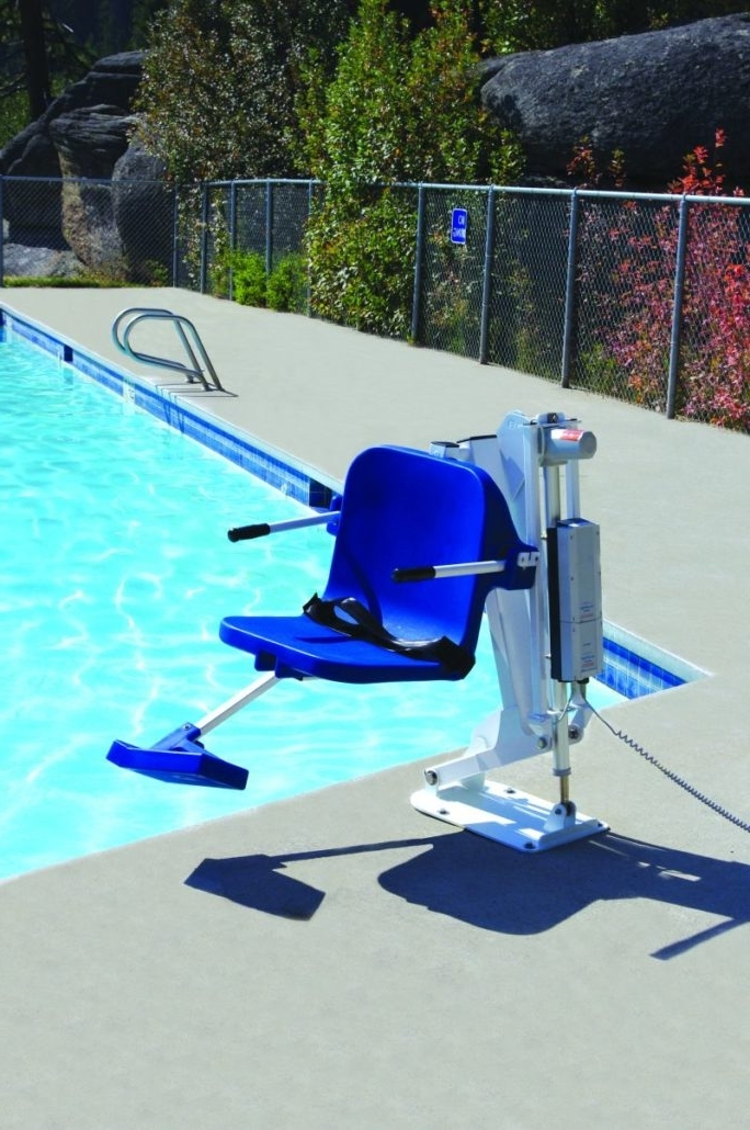 Famous Ranger Side Chairs Pertaining To The Ranger Pool Lift, Made In The Usaaqua Creek Products (View 17 of 20)