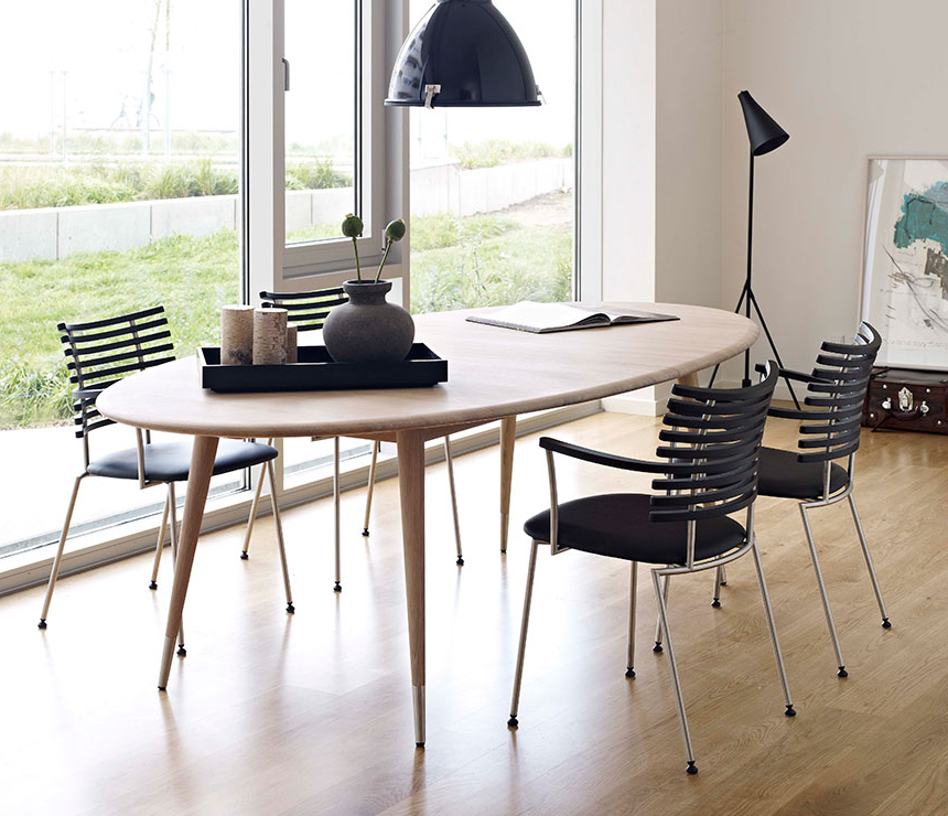 Famous Retro Extending Dining Tables For Oval Retro Dining Table – Dm9900 – Wharfside Danish Furniture (View 5 of 20)