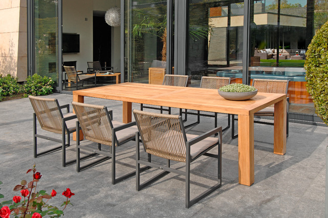 Famous Rope Lazio Dining Chair & Cortona Dining Table Regarding Lazio Dining Tables (View 17 of 20)