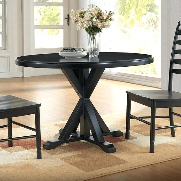 Famous Round Dining Tables For Sale Porter X Base Round Dining Table Dining Within Perth Dining Tables (View 17 of 20)
