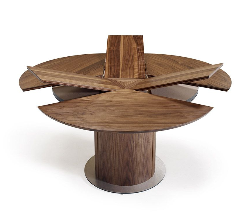 Famous Round Extending Dining Tables Sets Intended For Round Extending Dining Table Sets Round Table Furniture Round (Gallery 20 of 20)