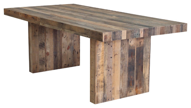 Famous Rustic Dining Tables Intended For Terra Nova Dining Table Rustic Pine – Rustic – Dining Tables  Cdi (Gallery 6 of 20)